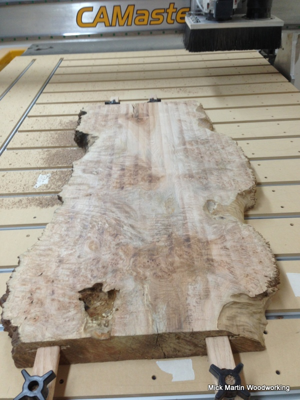 Milling Coffee Table Maple Slabs Mick Martin Woodworking