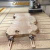 Milling coffee table maple slabs