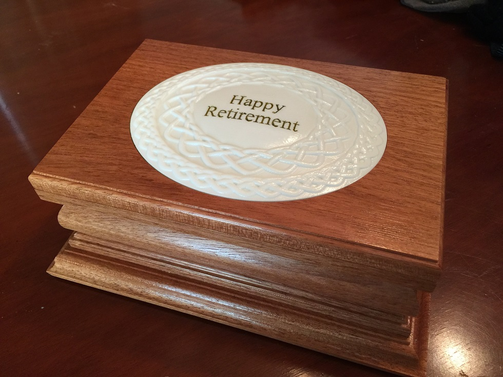 Bling box – Retirement gift | Mick Martin Woodworking