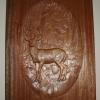 Deer carving